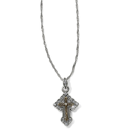 Brighton - Greek Petite Cross Necklace