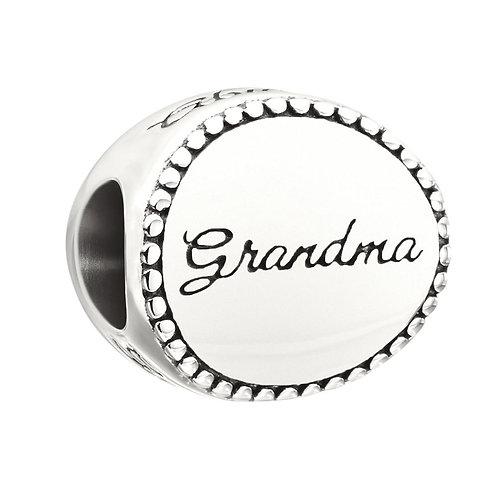Grandma Disc Charm