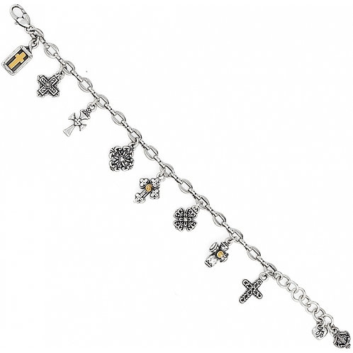 Brighton - Eternity Cross Bracelet