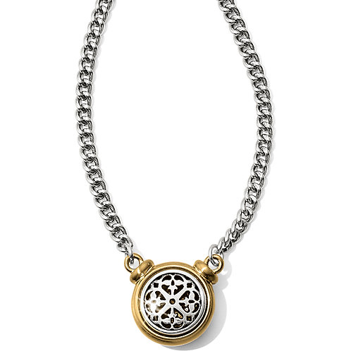 Brighton - Ferrara Two Tone Short Necklace