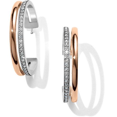 Brighton - Neptune's Rings Duo Large Hoop Earrings
