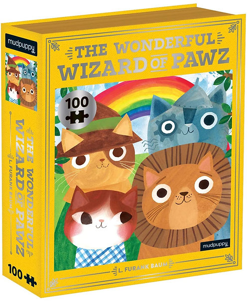 The Wonderful Wizard of Pawz Bookish Cats Puzzle