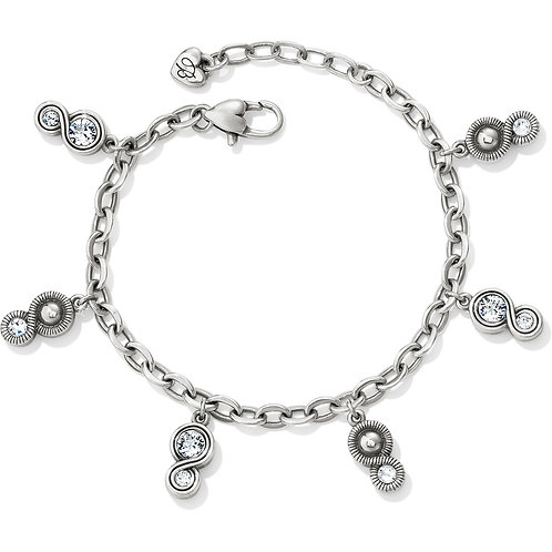 Brighton - Infinity Sparkle Charm Bracelet