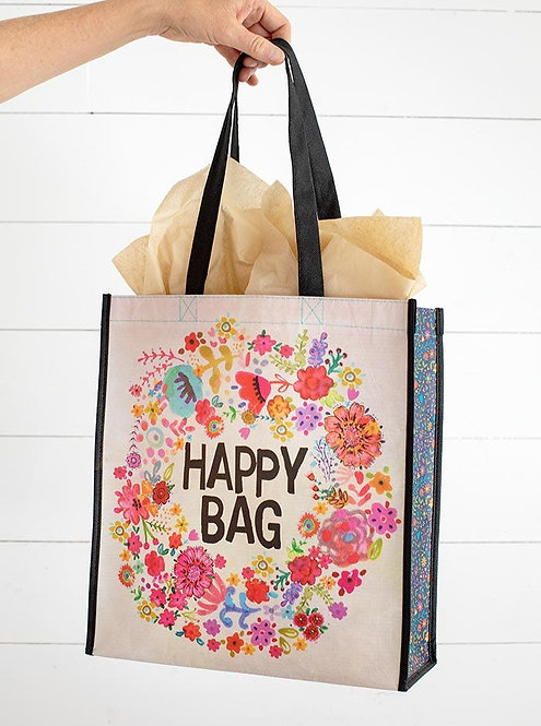 Whimsy Floral Happy Bag - Large