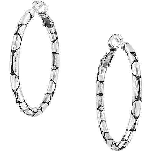 Brighton - Pebble Small Hoop Earrings