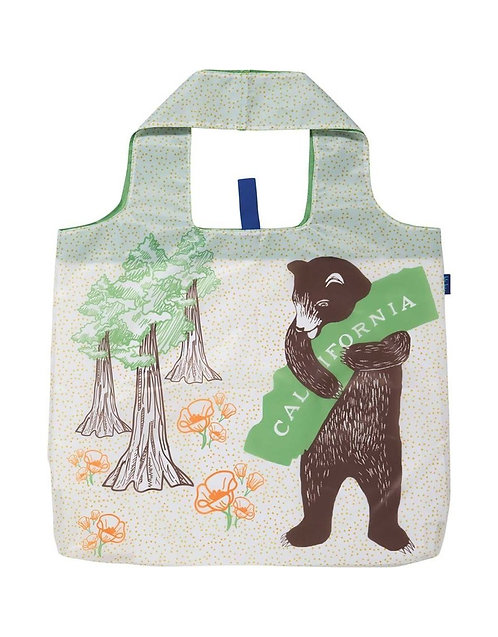 California Bear Blu Bag Reusable Tote