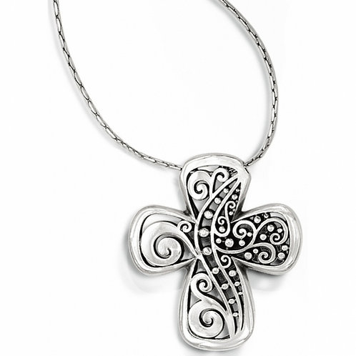 Brighton - Love Affair Reversible Cross Necklace