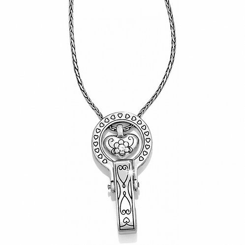 Brighton - Brighton Badge Clip Necklace