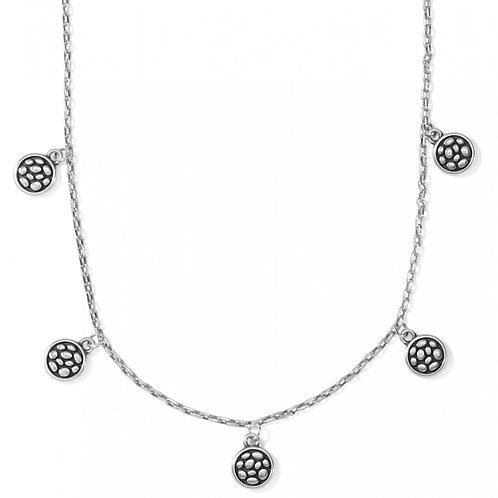 Brighton - Pebble Round Droplet Necklace