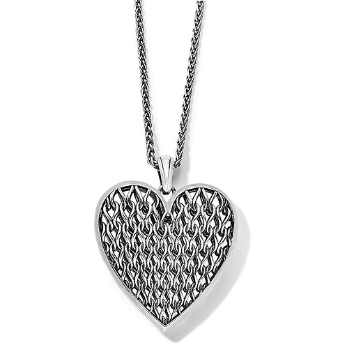 Brighton - Delicate Memories Heart Necklace