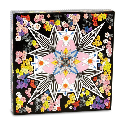 Christian Lacroix Flowers Galaxy Double-Sided 500 Piece Jigsaw Puzzle