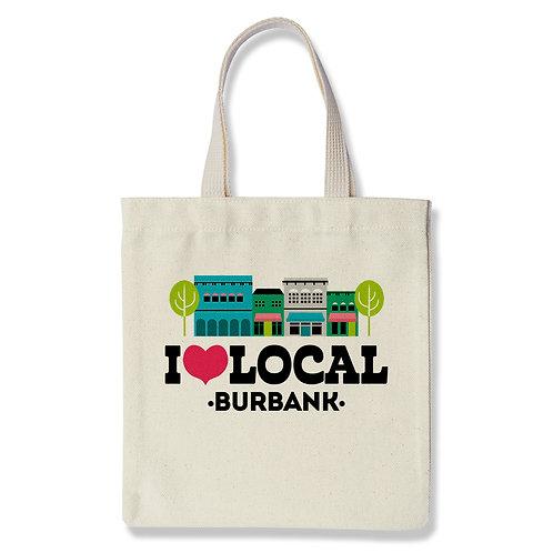 I Heart Local - Burbank - Tote