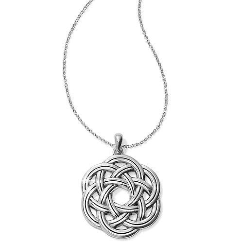 Brighton - Interlok Eternity Circle Necklace