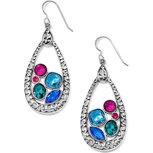 Brighton - Elora Gems Vitrail Hoop French Wire Earrings