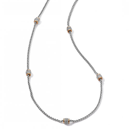 Brighton - Meridian Two Tone Long Necklace