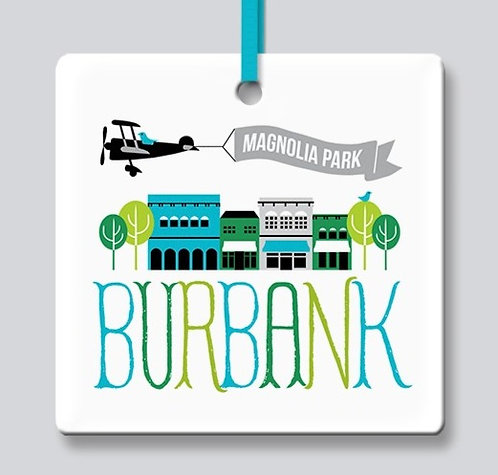 Burbank Ornament