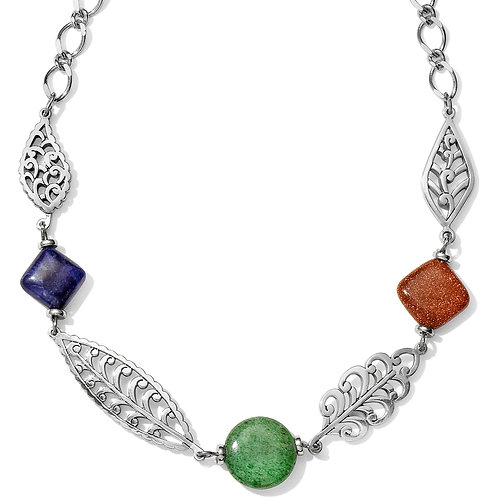 Brighton - Barbados Leaves Stone Short Necklace