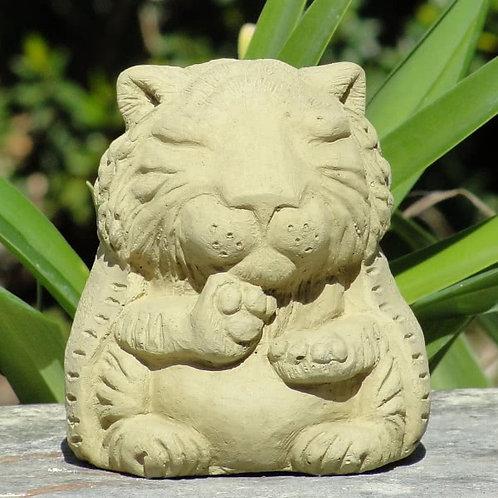 Meditating Tiger Figure - Small