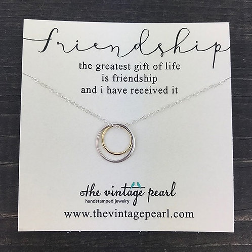 Friendship - Necklace, The Vintage Pearl