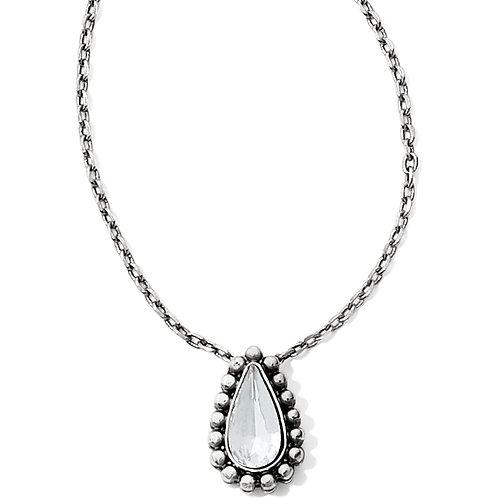 Brighton - Twinkle Teardrop Reversible Necklace