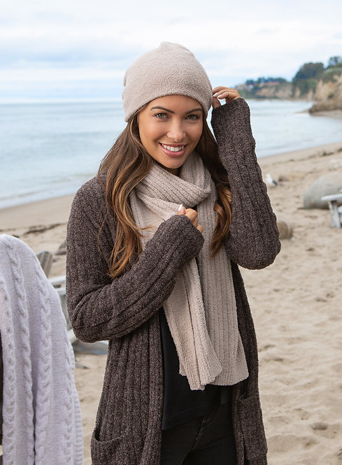 Cozychic Lite Ribbed Scarf - Taupe