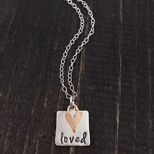 She Found the One Whom Her Soul Loved - Necklace