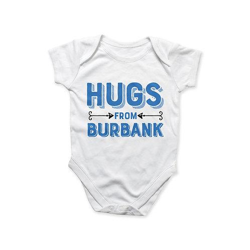 Hugs fromBurbank Onesie - Blue