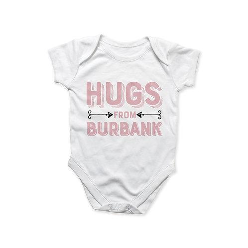Hugs fromBurbank Onesie - Pink