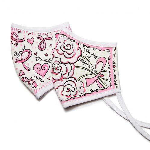 Brighton - Power Of Pink Mask Set (2 pack)