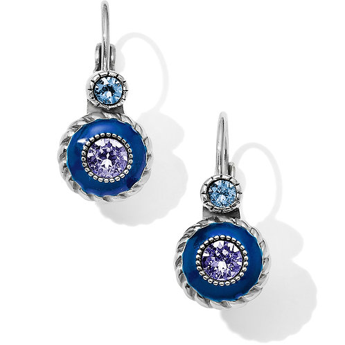 Brighton - Halo Eclipse Leverback Earrings