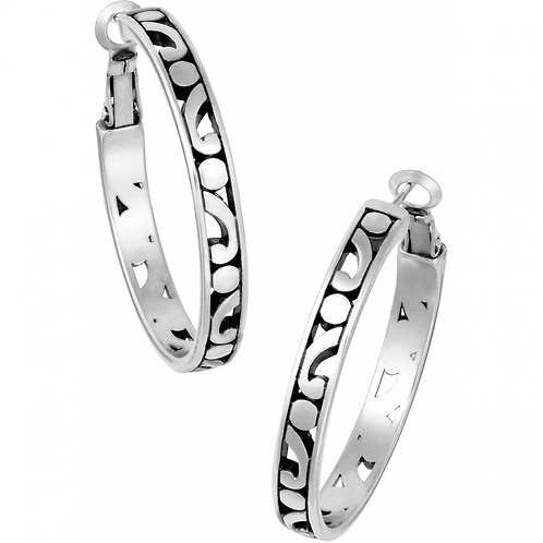 Brighton - Contempo Medium Hoop Earrings