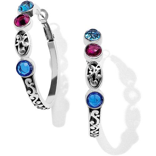 Brighton - Elora Gems Vitrail Hoop Earrings