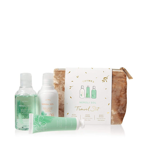 Thymes - Neroli Sol Travel Set