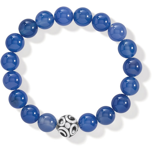 Brighton - Contempo Chroma Blue Agate Stretch Bracelet