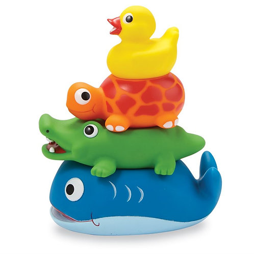 Mud Pie - Stackable Rubber Bath Toys