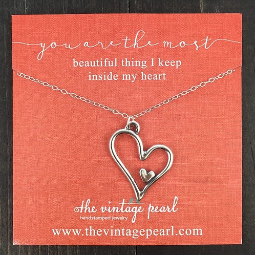 The Most Beautiful Thing - Necklace, The Vintage Pearl