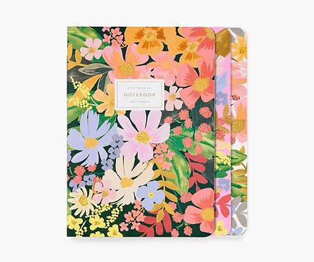 Rifle Paper - Stitched Notebook Set Marguerite