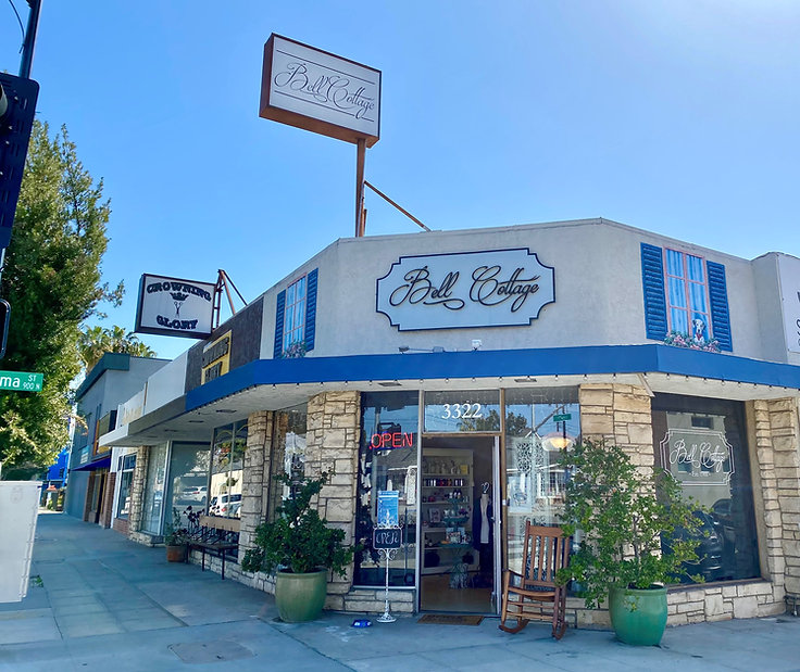 Bell Cottage Store Front