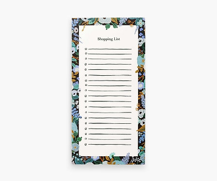 Rifle Paper - Market Pad Garden Party Blue