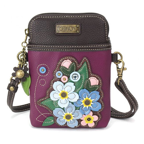 Chala - Forget Me Not - Cell Phone Crossbody