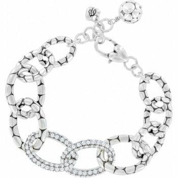 Brighton - Pebble Pave Link Bracelet