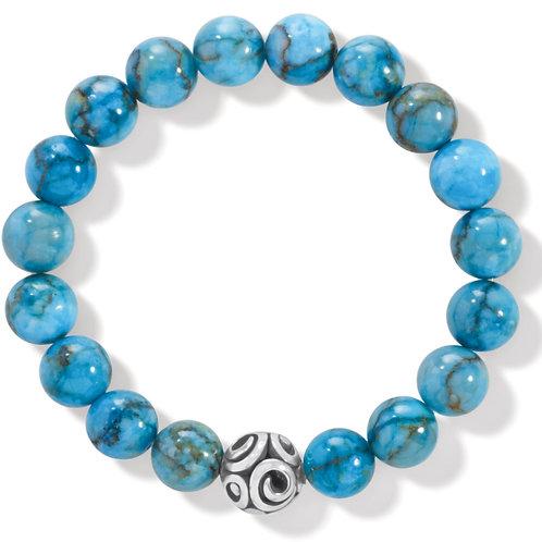 Brighton - Contempo Chroma Turquoise Stretch Bracelet