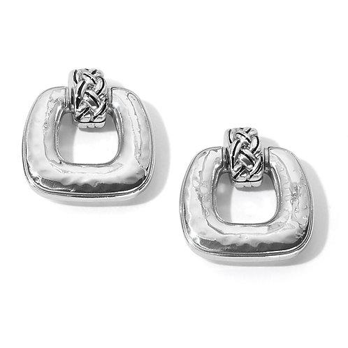 Brighton -  Interlok Woven Post Drop Earrings