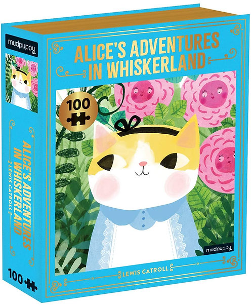 Alice's Adventures in Whiskerland Bookish Cats Puzzle