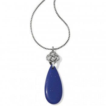 Brighton - Interlok Blue Necklace