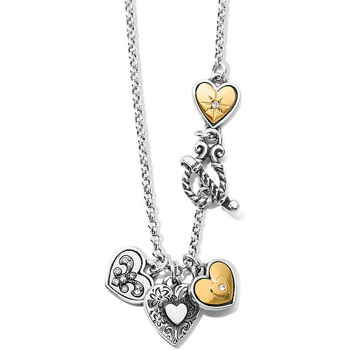 Brighton - One Heart Short Necklace