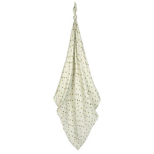 Milkbarn - Bumblebee Bamboo Muslin Swaddle Blanket