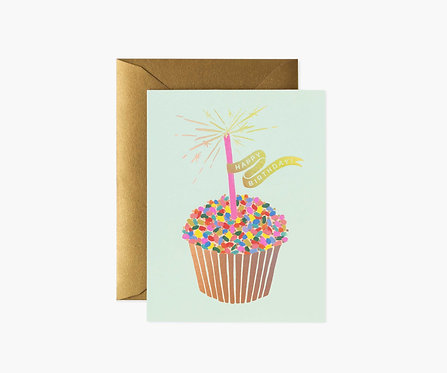 Rifle Paper - Cupcake Birthday Card