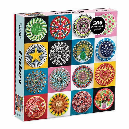 Cakes 500 Piece Puzzle