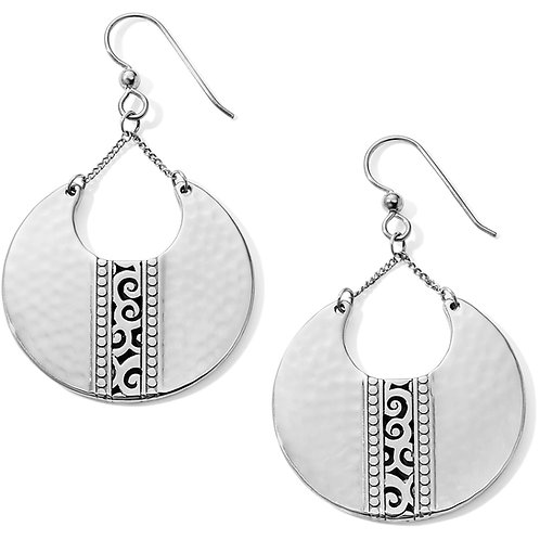 Brighton - Mingle Disc Large French Wire Earrings